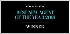 Elaine's Travel Co : Best New Agent Of The Year : Awarded from Carrier